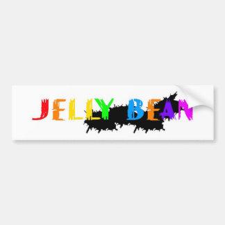 ゼリー菓子のロゴ バンパーステッカー