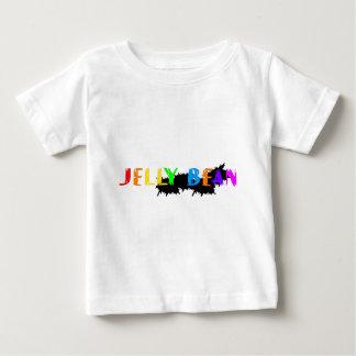 ゼリー菓子のロゴ ベビーTシャツ