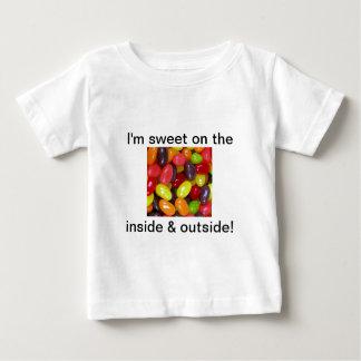 ゼリー菓子の菓子メッセージ ベビーTシャツ