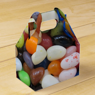 ゼリー菓子の黒の青緑キャンデーの質のテンプレート フェイバーボックス