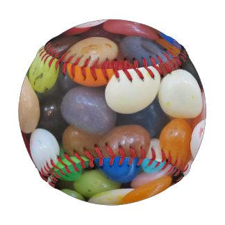 ゼリー菓子の黒の青緑キャンデーの質のテンプレート 野球ボール
