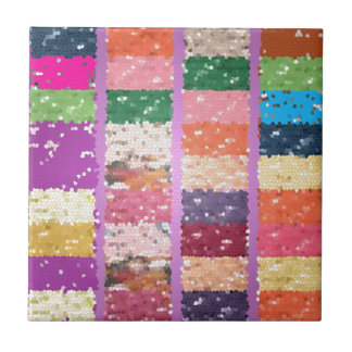 ゼリー菓子は芸術的で写実的な菓子を市松模様にしました タイル