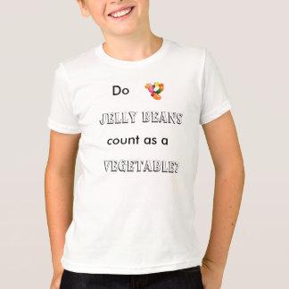 ゼリー菓子は野菜として数えますか。 Tシャツ