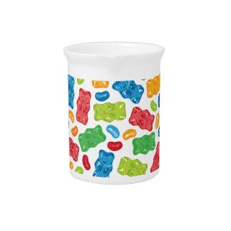 ゼリー菓子及び粘着性くまパターン ピッチャー