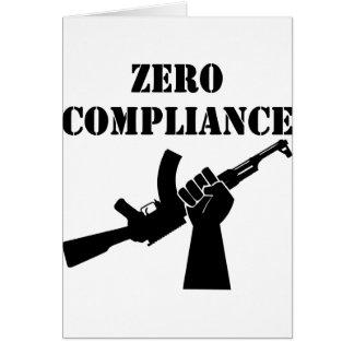 ゼロ承諾カラシニコフ自動小銃 カード