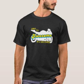 ゼロ3秒の素晴らしいに Tシャツ