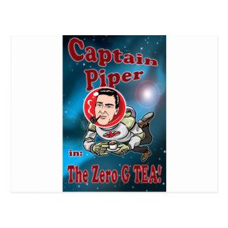 ゼロGの茶のPiper大尉! ポストカード