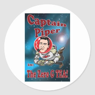 ゼロGの茶のPiper大尉! ラウンドシール