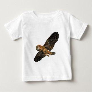 ゼロMORのフクロウ ベビーTシャツ
