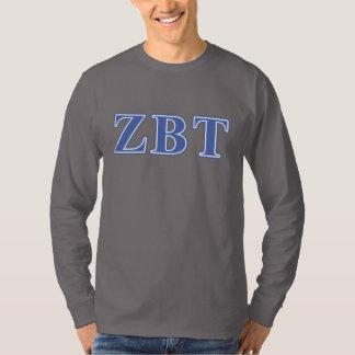 ゼータベータTauの青の手紙 Tシャツ