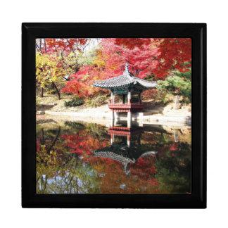 ソウルの秋の日本人の庭 ギフトボックス