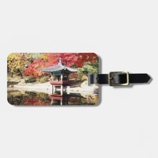 ソウルの秋の日本人の庭 ラゲッジタグ