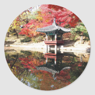 ソウルの秋色 ラウンドシール