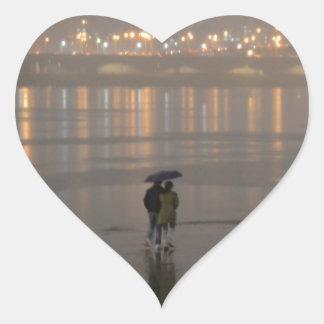 ソウルの雨 ハートシール