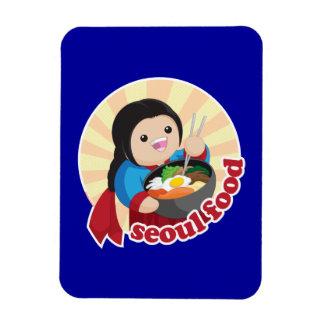 ソウルの食糧 マグネット