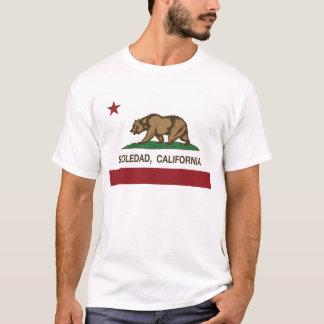 ソウルダッドカリフォルニアの州の旗 Tシャツ