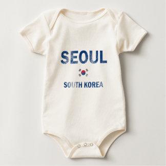 ソウル南朝鮮のデザイン ベビーボディスーツ