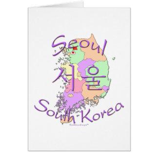 ソウル南朝鮮 カード