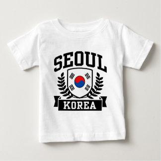 ソウル韓国 ベビーTシャツ