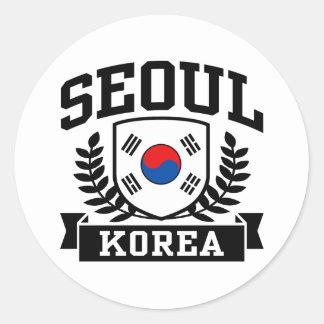 ソウル韓国 ラウンドシール