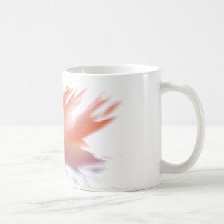 ソエの黄色の抽象芸術 コーヒーマグカップ