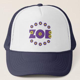 ソエフローレス島の紫色 キャップ