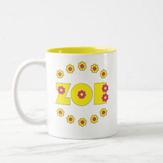 ソエフローレス島の黄色 ツートーンマグカップ