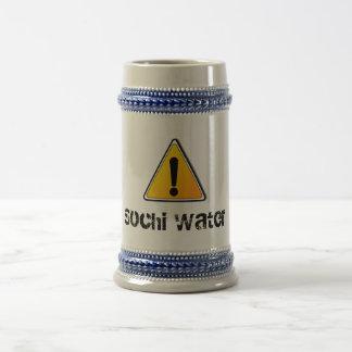 ソチ水ビールのジョッキ ビールジョッキ