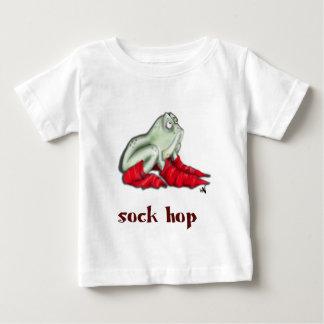 ソックスのホツプ ベビーTシャツ