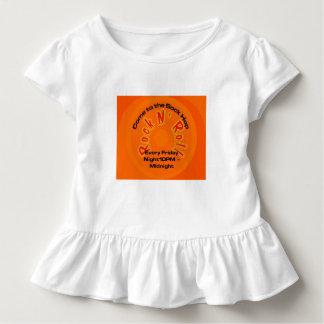 ソックスのホツプ-石Nロール トドラーTシャツ