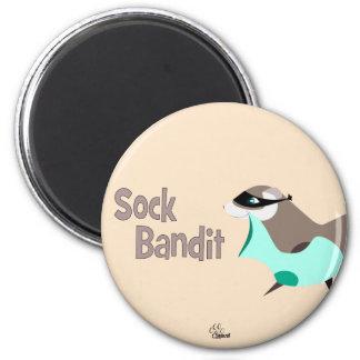 ソックスの強盗のおもしろいなフェレットの磁石 マグネット