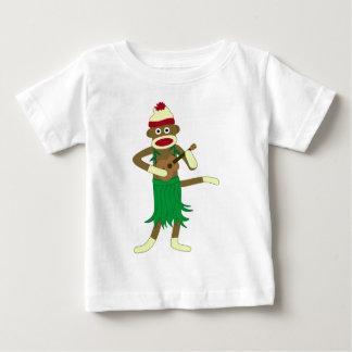 ソックス猿のウクレレ ベビーTシャツ