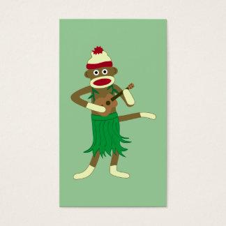 ソックス猿のウクレレ 名刺
