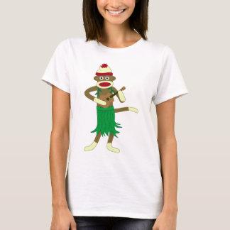 ソックス猿のウクレレ Tシャツ