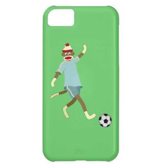 ソックス猿のサッカーの選手 iPhone5Cケース