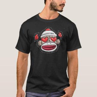 ソックス猿のバレンタインの商品 Tシャツ