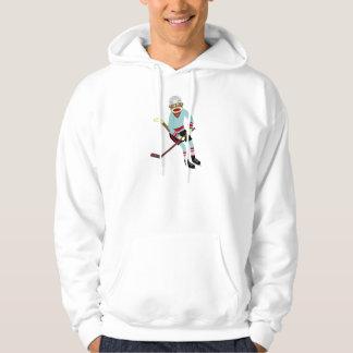 ソックス猿のホッケー選手 パーカ