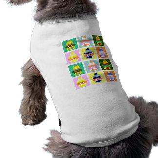 ソックス猿のポップアート ペット服