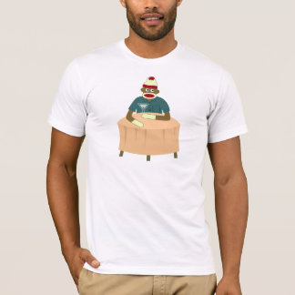 ソックス猿のマルティーニのナイトクラブ Tシャツ
