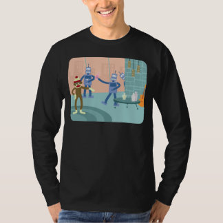 ソックス猿のロボットカクテルパーティー Tシャツ