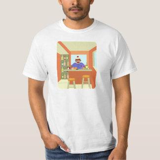 ソックス猿のワインのテースター Tシャツ