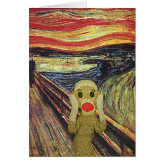 ソックス猿の叫びカード カード