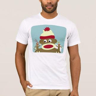 ソックス猿の天使及び悪魔 Tシャツ