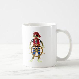ソックス猿の海賊 コーヒーマグカップ
