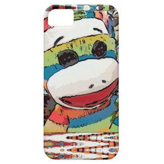 ソックス猿の芸術のiPhoneの場合 iPhone SE/5/5s ケース