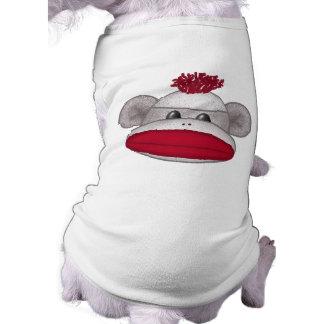 ソックス猿の頭部 ペット服
