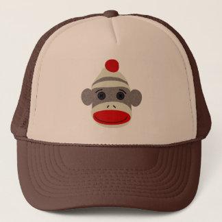 ソックス猿の顔 キャップ