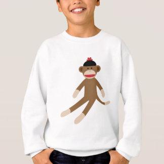 ソックス猿 スウェットシャツ