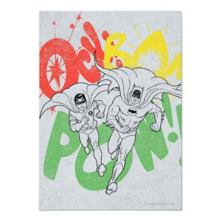 ソックスBAMの捕虜のバットマンおよびロビン カード