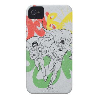 ソックスBAMの捕虜のバットマンおよびロビン Case-Mate iPhone 4 ケース